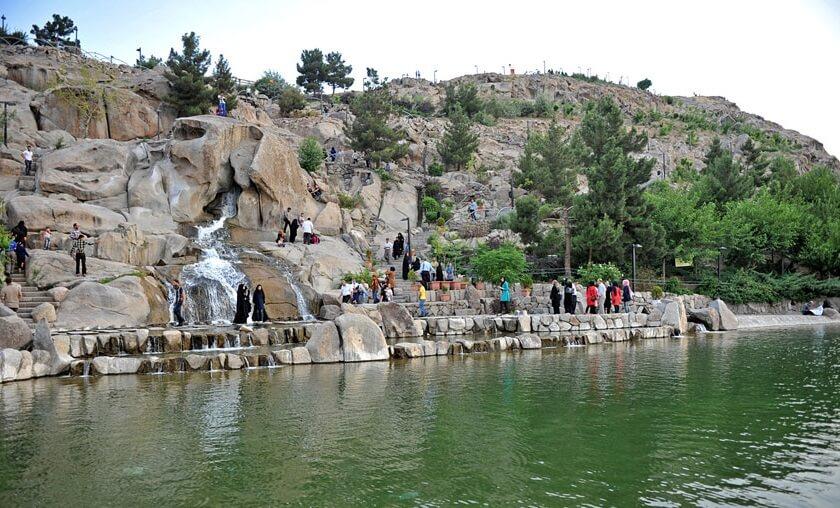 بوستان کوه سنگی مشهد